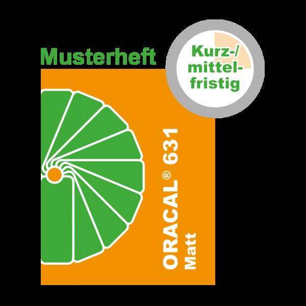 MUSTER Kurz-/mittelfristige Klebefolie (MATT) ORACAL® 631