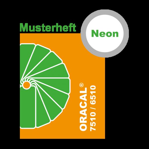 MUSTER Fluoreszierende Neon-Klebefolie ORACAL® 7510 6510