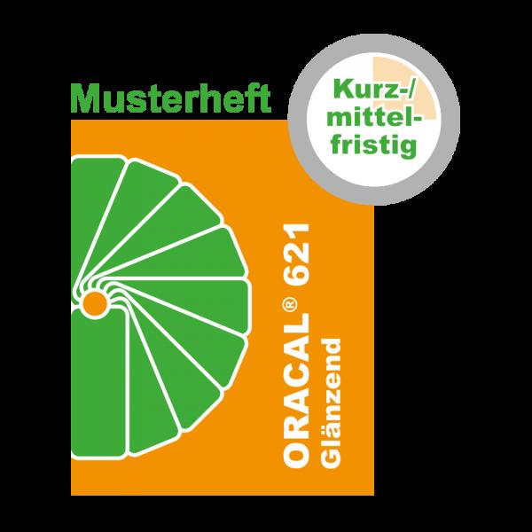MUSTER Kurz-/mittelfristige Klebefolie (GLÄNZEND) ORACAL® 621