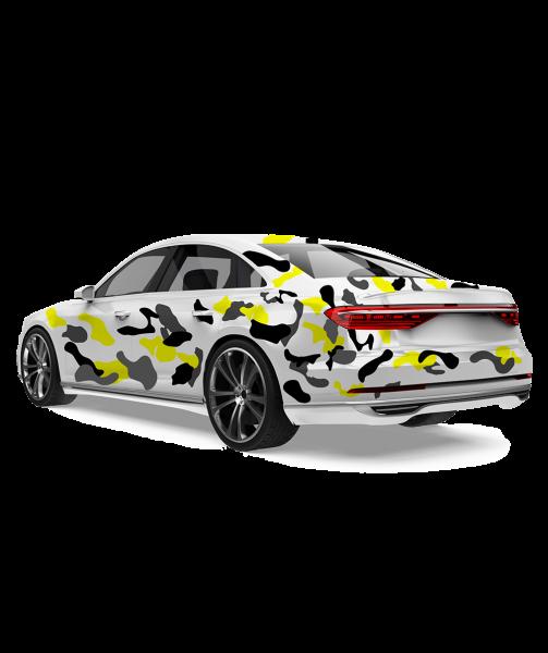 Camouflage Folien-Set - Round (universal)
